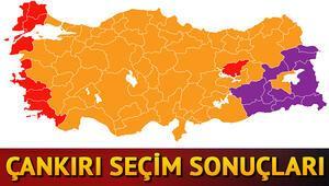 Çankırı seçim sonuçları | 24 Haziran seçimlerinde Çankırı'da son sonuçlar