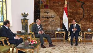 Sisi ve Allavi Iraktaki son durumu görüştü