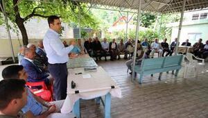 Türkmen Pınarı Yaylasında halk toplantısı