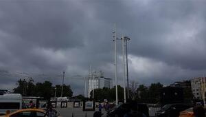 İstanbulda yağış başladı... AKOMdan yeni açıklama geldi
