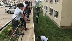 11'inci kattan düşen 2 yaşındaki Ömer Asaf hayatını kaybetti