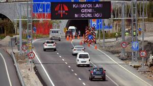 Sabuncubeli Tünellerinden 15 günde 600 bin araç geçti