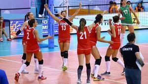 Voleybol: Kadınlar FIVB Uluslar Ligi 6lı Finalleri - ABD: 3 - Türkiye: 2