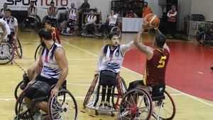 Tekerlekli Sandalye Basketbol Süper Ligi şampiyonu Galatasaray