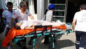 Boğulma tehlikesi geçiren Yasir, yaşam savaşı veriyor