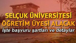 Selçuk Üniversitesi personel alacağını duyurdu. İşte başvuru şartları