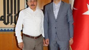 Seydişehir Belediye Başkanı, Büyükşehir Belediye Başkanını ziyaret etti
