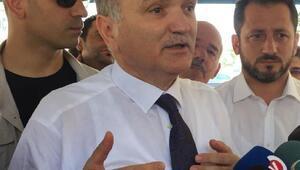 Bakan Özlüden Düzcede seçim sonuçlarına itiraz açıklaması