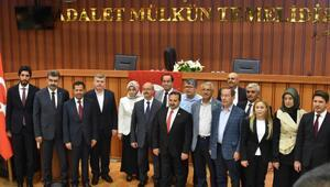 Konyada milletvekilleri mazbatalarını aldı