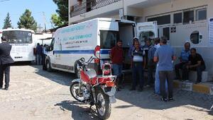 Ceylanpınar Belediye personeli sağlık taramasından geçti