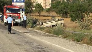 Otomobil takla attı: 1 ölü, 3 yaralı