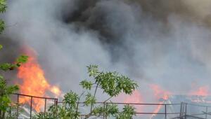 Ek fotoğraflar // Beykozda fabrika yangını