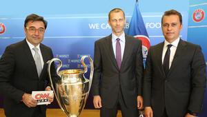 UEFA Başkanı Aleksander Ceferin: Türk futbolu çok iyi bir lidere sahip