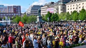 Stockholmde Jimmy Durmaza büyük destek