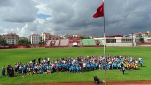 Yaz spor okulları törenle açıldı