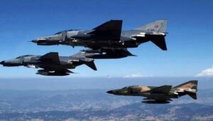 TSK açıkladı... Avaşin Basyan bölgesine hava harekatı