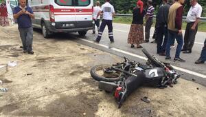 Sınav sonrası ailesinin yanına giderken kazada ağır yaralandı