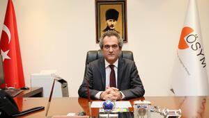 ÖSYM Başkanı Özer: YKSnin iki oturumu da sorunsuz tamamlandı