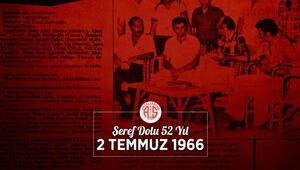 Antalyaspor'un kuruluşunun 52. yıl dönümü