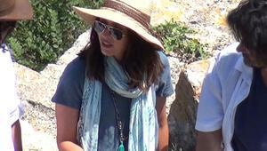 Hollywood yıldızı Megan Fox Çanakkale'de