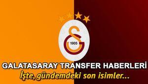 Gündemdeki Galatasaray transfer haberleri | Transferde son gelişmeler
