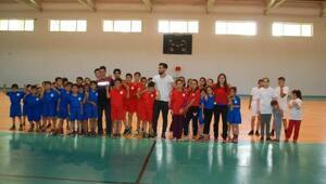 Hizanda Yaz Spor Okullarına yoğun ilgi