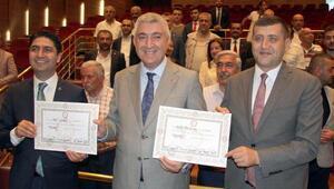 MHPli Özdemir ve Ersoy ile İYİ Partili Ataş mazbatalarını aldı