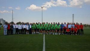 Konyaspor sezonun ilk antrenmanını gerçekleştirdi