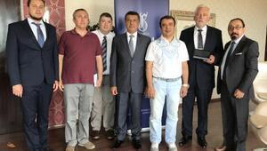 İGÜ, ABli işadamları ve uluslararası diplomatlarla ortak proje üretecek