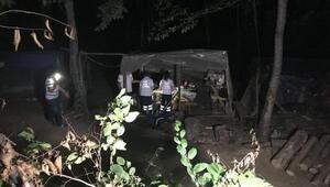 Ormanda 3 iş arkadaşını öldüren, 3 kişiyi de yaralayan zanlı yakalandı
