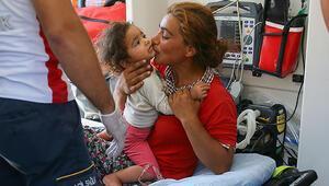 İzmirde kayıp Rüya ve anneannesi bulundu
