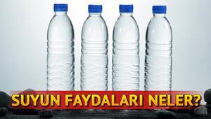 Suyun faydaları nelerdir Günde ne kadar su içmeli