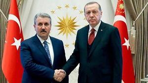 Erdoğan ile görüşmesinin ardından açıkladı BBP lideri bakan olacak mı