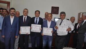 AK Parti Aydın milletvekilleri mazbatalarını aldı