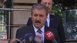 BBP Genel Başkanı Mustafa Destici: Kabinede yer almam söz konusu değil