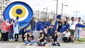 Batmanlı öğrenciler mektup yazarak İzmiri gezdi