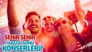 ŞEHİR ŞEHİR HAFTA SONU KONSERLERİ