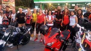 Motosikletlilerden şiddet ve istismar protestosu