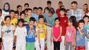 Osmaniyede yaz spor okullarına yoğun ilgi