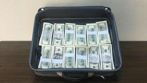Bir bavul sahte dolar ele geçirildi