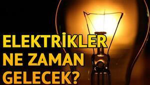 İstanbul'da elektrikler ne zaman gelecek, kesintiler kaç saat sürecek