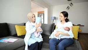 """Yeni annelere """"yeni doğan bebek eğitimi"""" verildi"""