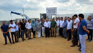Okullar bölgesine asfalt şantiyesi kurulmasına tepki