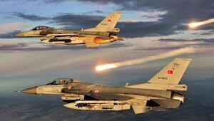 TSKdan hava operasyonu: 8 terörist öldürüldü