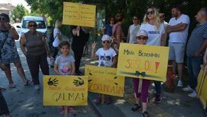 Ağvada çocuk istismarı ve cinayetlerini protesto yürüyüşü