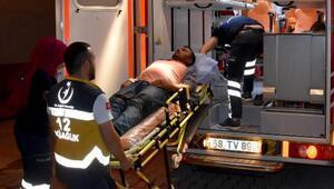 Freni boşalan kamyonet, 100 metrelik yamaçtan aşağı indi: 17 yaralı