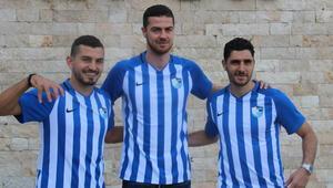 Erzurumspor yeni transferleri ile sözleşme imzaladı
