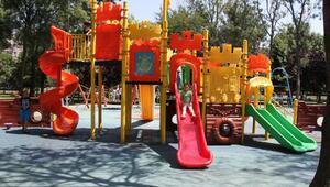 Çocuk istismarına karşı parklara güvenlik kamerası