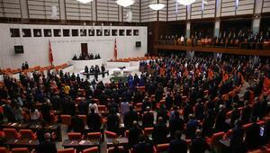 Son dakika... Mecliste yemin günü
