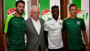 Bursasporda yeni transferler imza attı